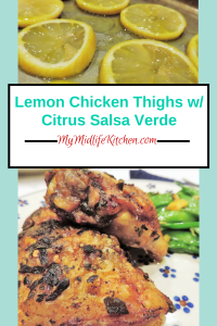 Lemon Chicken Thighs w_Citrus Salsa