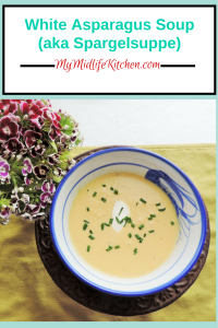 White Asparagus Soup (aka Spargelsuppe)